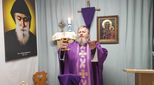 La Santa Messa in diretta-30.03.2020