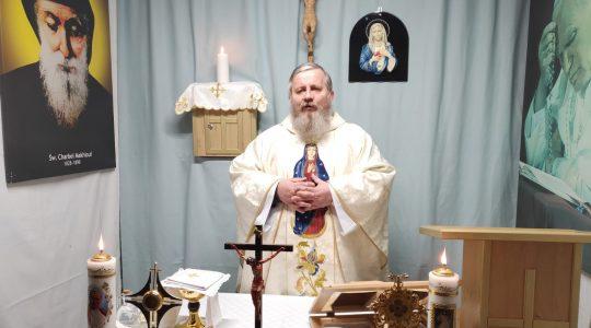 Zwiastowanie Pańskie-Transmisja z Mszy Świętej 25.03.2020