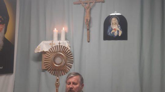 Adoracja Eucharystyczna i Apel Maryjny-Adorazione Eucaristica in diretta (25.03.2020)