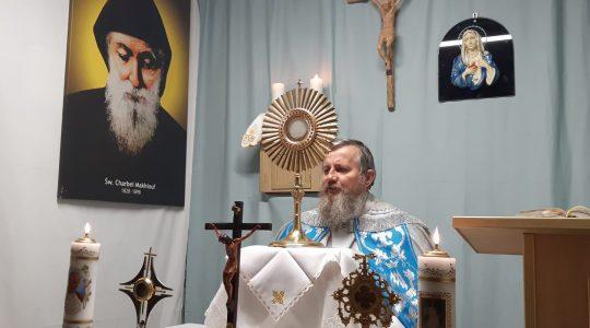 Adorazione Eucaristica-Adoracja Eucharystyczna (27.03.2020)