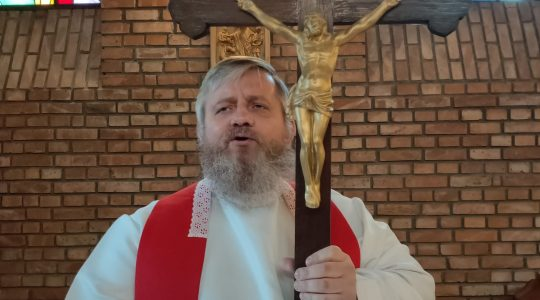 Via Crucis in diretta-Transmisja z Drogi Krzyżowej (20.03.2020)