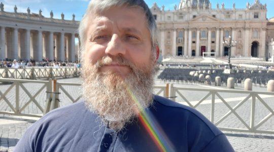 Padre Jarek Cielecki annuncia che riprende da domani le trasmissioni sul Portale Charbel TV (12.03.2020)