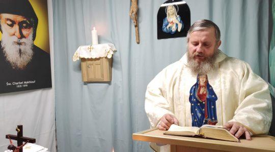 L'Anunziazione del Signore- la Santa Messa in diretta(25.03.2020)