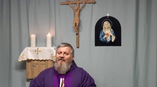 Transmisja z Mszy Świętej (27.03.2020)