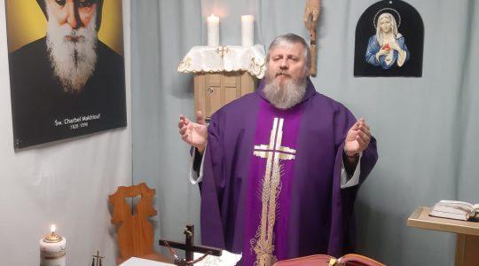 La Santa Messa in diretta-(28.03.2020)