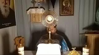 Adoracja Najświętszego Sakramentu-Adorazione Eucaristica- 29.03.2020