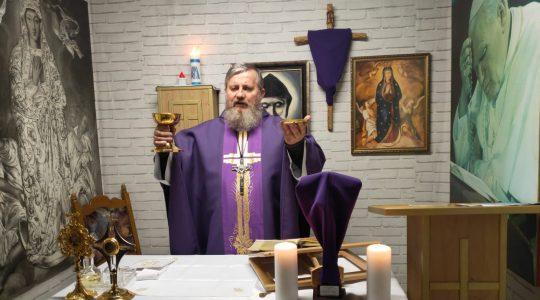 La Santa Messa in diretta-06.04.2020