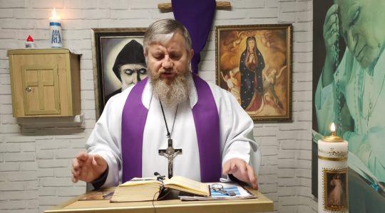 Secondo insegnamento-2° giorno di esercizi spirituali-07.04.2020