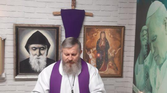 Druga nauka rekolekcyjna księdza Jarka-transmisja 06.04.2020