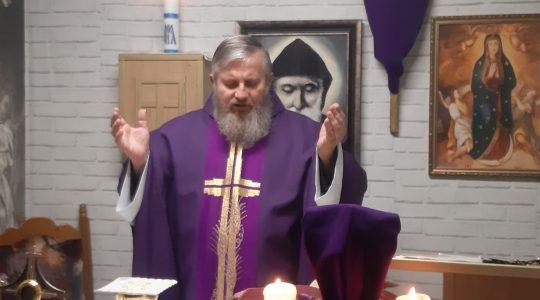 Ritiro Spirituale-in diretta (05.04.2020)