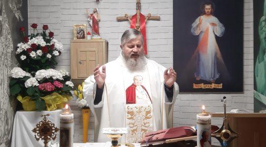 La Santa Messa in diretta-20.04.2020