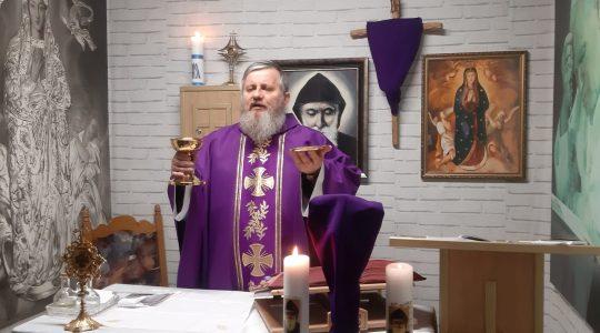 La Santa Messa in diretta-03.04.2020