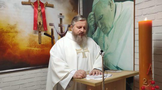 Transmisja z Mszy Świętej-15.04.2020