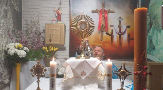 Transmisja z Adoracji Eucharystycznej-Adorazione Eucaristica in diretta-14.04.2020