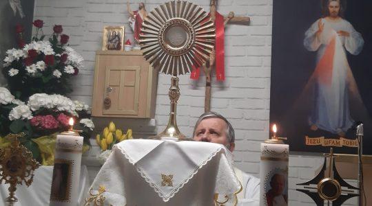 Adoracja Najświętszego Sakramentu-Adorazione Eucaristica-20.04.2020