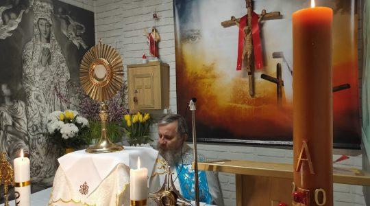 Adorazione Eucaristica-Adoracja Eucharystyczna-15.04.2020