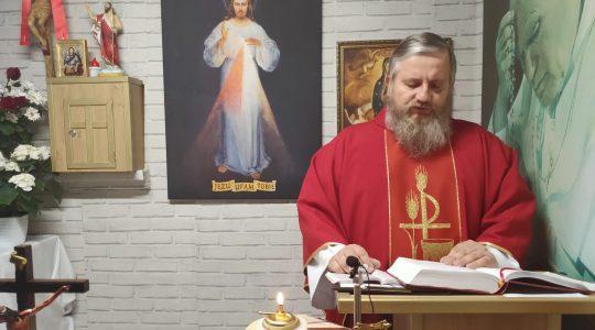 Transmisja z Mszy Świętej-23.04.2020