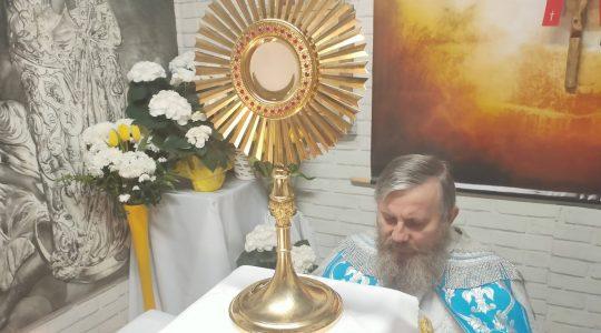 Adoracja Eucharystyczna-Adorazione Eucaristica-21.04.2020
