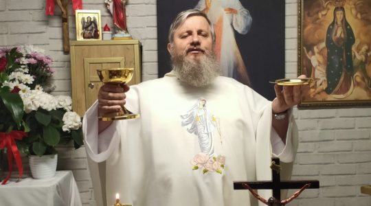 La Santa Messa in diretta-26.04.2020