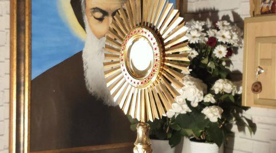 Adoracja Eucharystyczna-Adorazione Eucaristica-25.04.2020