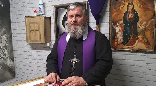 Secondo insegnamento-terzo giorno di ritiro con padre Jarek 08.04.2020