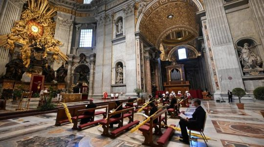 Przejmujące przeżywanie Niedzieli Palmowej w Watykanie(Charbel TV News - 05.04.2020)