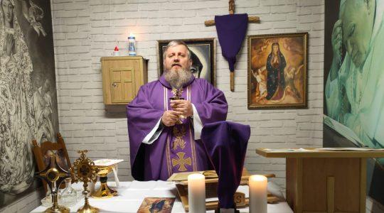 La Santa Messa in diretta-conclusione del ritiro 08.04.2020