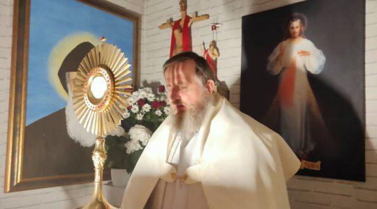 Adoracja Najświętszego Sakramentu-Adorazione Eucaristica in diretta-23.04.2020