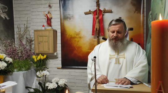 La Santa Messa in diretta-15.04.2020