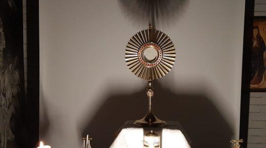 Adorazione Eucaristica-Adoracja Eucharystyczna i Apel Maryjny_05.04.2020