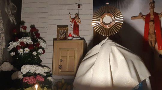 Adorazione Eucaristica-Adoracja Eucharystyczna-22.04.2020