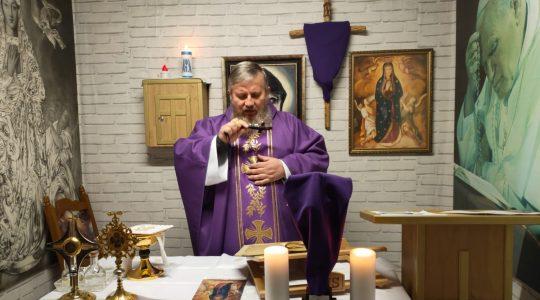 Transmisja z Mszy Świętej-zakończenie rekolecji 08.04.2020