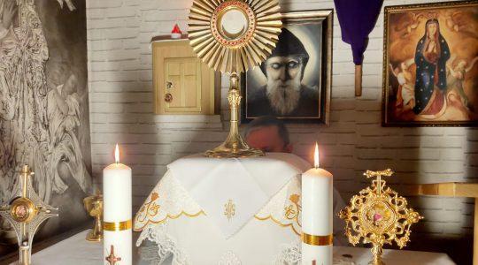Transmisja z Adoracji i Koronki do Bożego Miłosierdzia-Adorazione e Coroncina della Divina Misericordia in diretta-09.04.2020