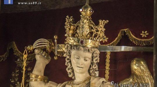 Błogosławili mieczem Michała Archanioła (6.04.2020)