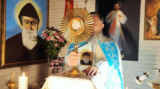 Adorazione Eucaristica e Litania Lauretana in diretta-07.05.2020