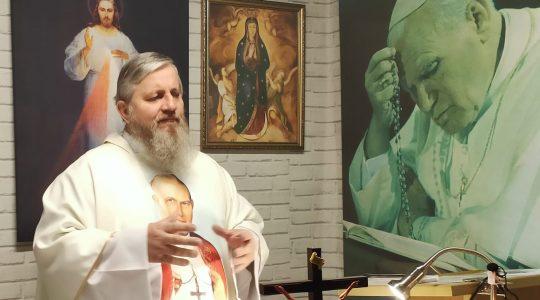 Transmisja z Mszy Świętej i Nabożeństwo Majowe-27.05.2020