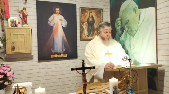 Transmisja z Mszy Świętej i Nabożeństwo Majowe-10.05.2020