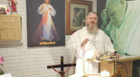 Transmisja z Mszy Świętej i Nabożeństwo Majowe-28.05.2020