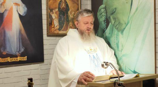 Omelia di padre Jarek-23.05.2020