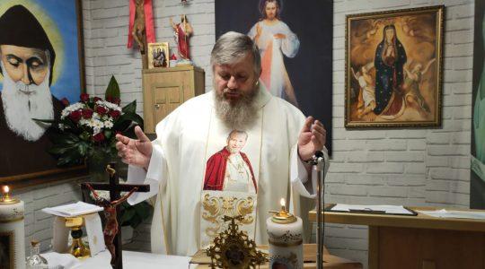 Transmisja z Mszy Świętej i Nabożeństwo Majowe-25.05.2020