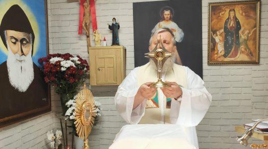 Adoracja z modlitwą o uzdrowienie-Adorazione con la preghiera di guarigione-22.05.2020