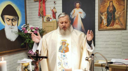 Msza Święta uroczystość Najświętszej Maryi Panny Królowej Polski i Nabożeństwo majowe-02.05.2020