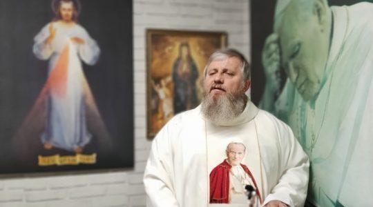 Omelia di padre Jarek-02.05.2020
