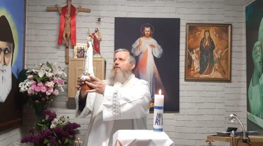 Msza Święta i Nabożeństwo Majowe-13.05.2020