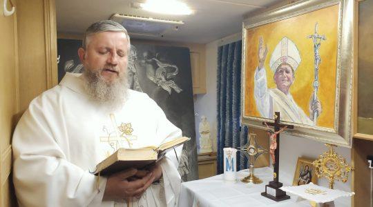 La Santa Messa in diretta-19.05.2020