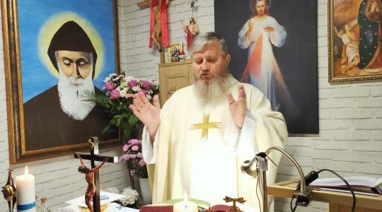 Transmisja z Mszy Świętej i Nabożeństwo Majowe-23.05.2020
