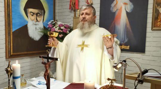 Transmisja z Mszy Świętej - Nabożeństwo Majowe-05.05.2020