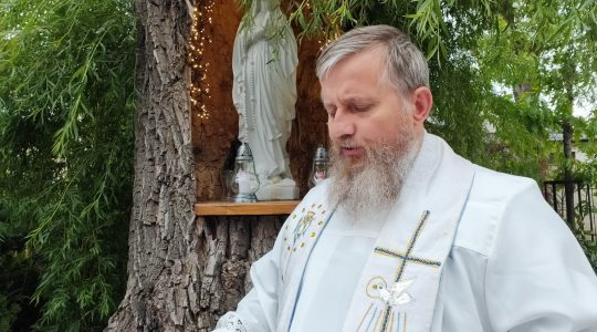 Catechesi di padre Jarek in diretta-20.06.2020