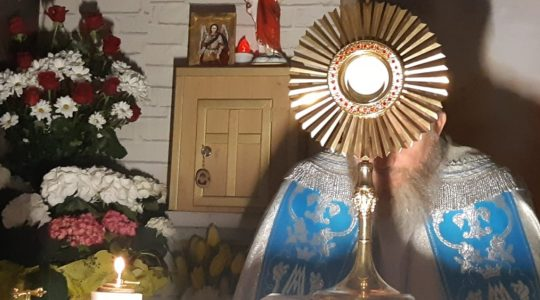 Suplika do Królowej Różańca Świętego, transmisja-Supplica alla Madonna dei Pompei in diretta-08.05.2020