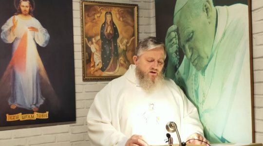 Transmisja z Mszy Świętej i Nabożeństwo Majowe-12.05.2020